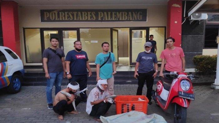 Salahkan Corona, Pencuri Ikan Tenggiri di Palembang saat Ditangkap Polrestabes Palembang