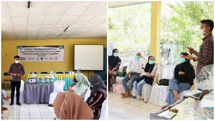 Lestarikan Motif Kain Khas Daerah,Rumah BUMN Binaan PLN&Pemkab; Kepahiang Gelar Pelatihan Batik Diwo