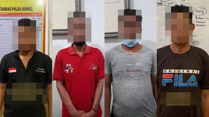 Polisi Dikepung Warga Usai Diteriaki Perampok Saat Tangkap Pelaku Narkoba di Rantau Bayur Banyuasin