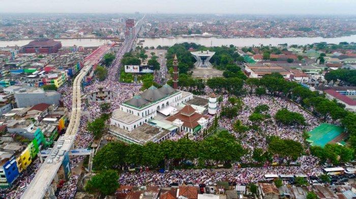 Pengurus Masjid Diminta Sekda Ratu Dewa Waspadai Warga dari Zona Merah, Salat Ied di Palembang