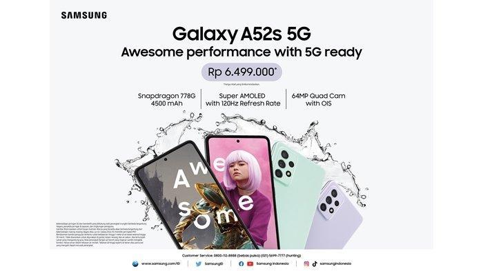 Samsung Galaxy A52s 5G untuk Performa Awesome Tanpa Kompromi, Cocok Buat Kamu Para Gamer