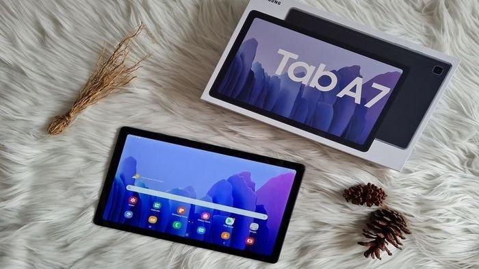 Galaxy Tab  A7 Resmi Meluncur,  Dibandrol dengan Harga Rp 5 Juta, Mulai Bisa Dibeli pada 31 Oktober