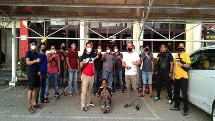Pelaku Pembunuhan di Palembang Ditangkap, Sangkut Pukulkan Cangkul Saat Korban Main Handphone