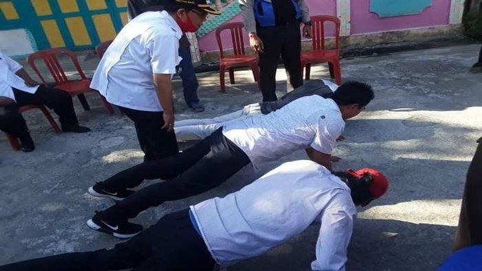 Dalam Sehari Ratusan Warga di Paiker Empat Lawang Terjaring Operasi Yustisi Protokol Kesehatan