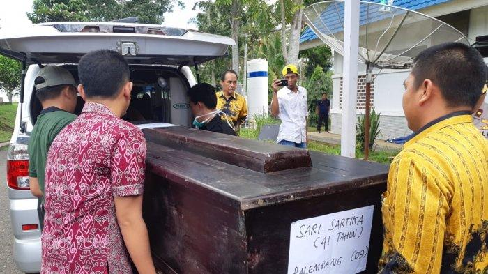 Detik-detik Evakuasi Sari Sartika, Korban Terakhir Pasca Kecelakaan Bus Sriwijaya di Pagaralam