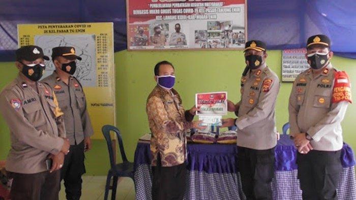Pasien Covid-19 di Muaraenim yang Sedang Isoman, Mendapat Bantuan Beras dan Masker