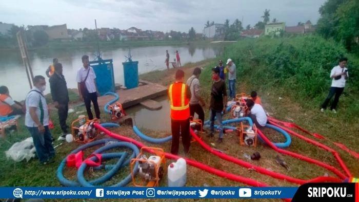 Antisipasi Banjir Besar di Palembang, BBWSS VIII Ungkap Penyebab Banjir & Siapkan 20 Pompa Portable