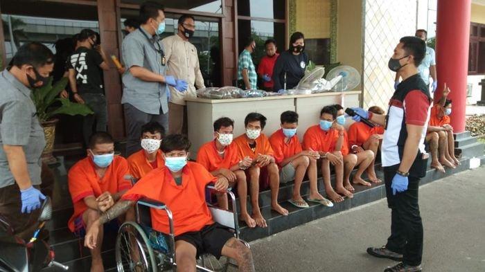 Ada yang Dipelor, Sepekan Reskrim Polrestabes Palembang Tangkap 28 Pelaku Bandit Jalanan