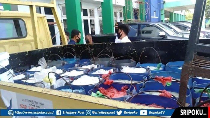 Tak Pernah Jera, Satu Truk Tahu Formalin Ditemukan di Pasar 7 Ulu, Produksi Pabrik di Padang Selasa
