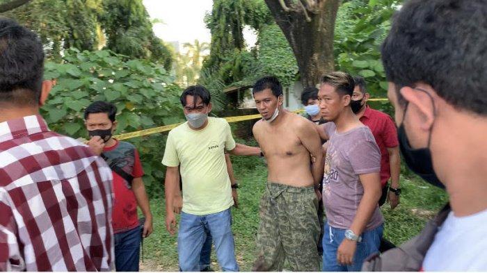 Ada 20 Pisau & Dua Laptop di Kosan Mukhsin Penikam Polisi di Pos Polisi Angkatan 66 Palembang