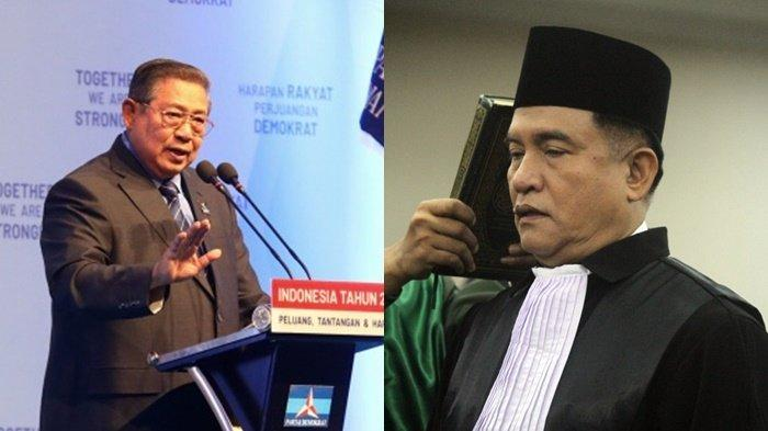 'Yang Hitler itu Siapa, Saya atau Pak SBY', Yusril Tercengang Dituduh Nazi oleh Kubu AHY