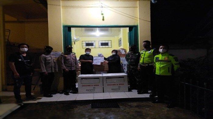 15.289 Dosis Vaksi Covid -19 Siap Disalurkan ke Masyarakat OKU, Dikawal Ketat Polisi dan TNI