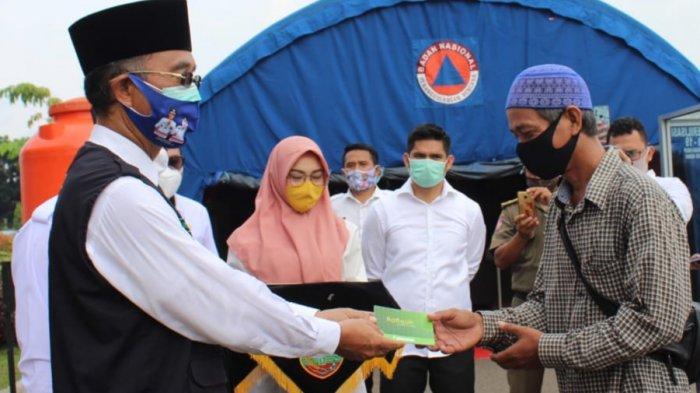 1.613 Guru Ngaji, Marbot, Tokoh Agama dan P2UKD di Kabupaten Musirawas Terima Insentif