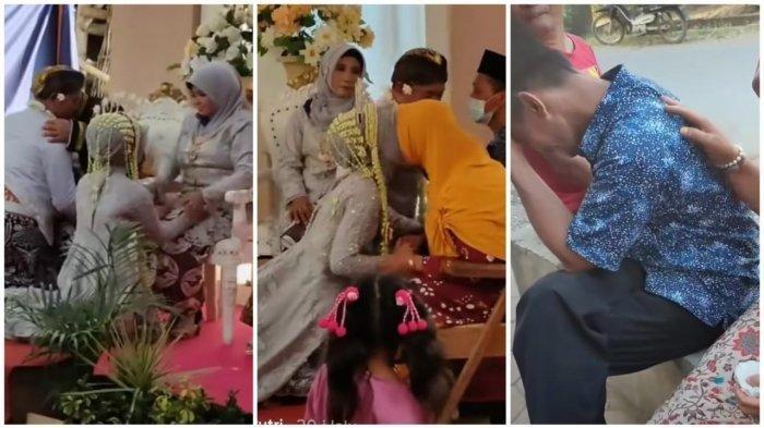 Kisah Keluarga Broken Home Nikahkan Anak, Ayah Ditolak Foto Bersama Habis Sungkeman, Alasannya Pilu