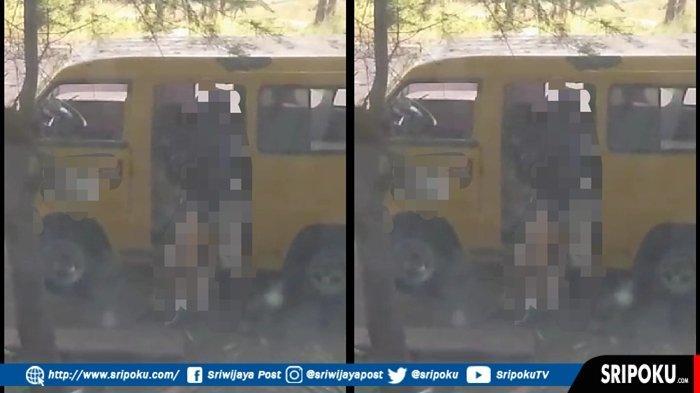 Video Mesum dalam Mobil Angkot di Lubuklinggau Beredar, Adegan tak Senonoh di Pintu Mobil Angkot