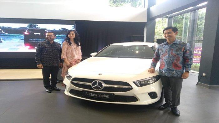 New A-Class Sedan dan New GLC, Mercedes-Benz Sasar Anak Muda yang Elegan dan Sporty