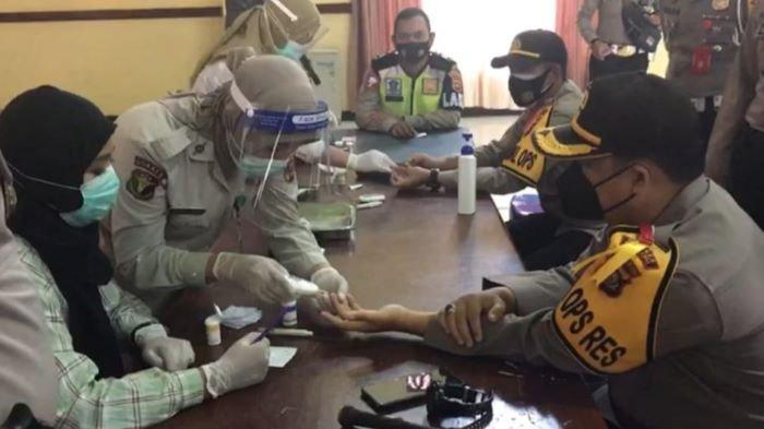Personil Polres Musirawas Periksa Kesehatan, Persiapan Pengaman Pilkada 2020