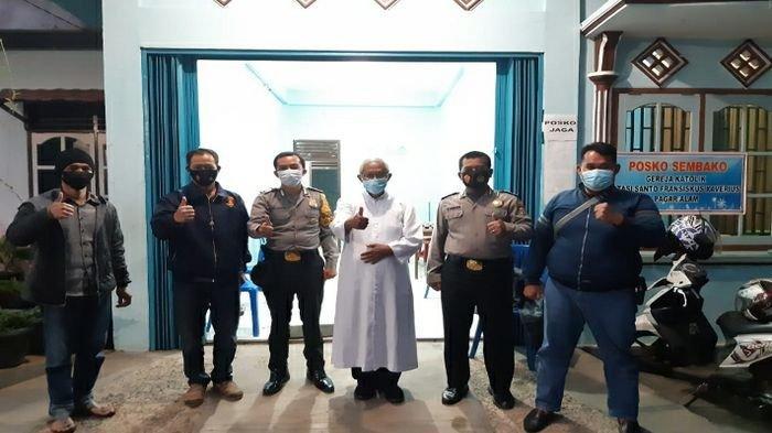 Pasca Bom Bunuh Diri di Gereja Katedral Makassar, Gereja-gereja di Kota Pagaralam Dijaga Ketat