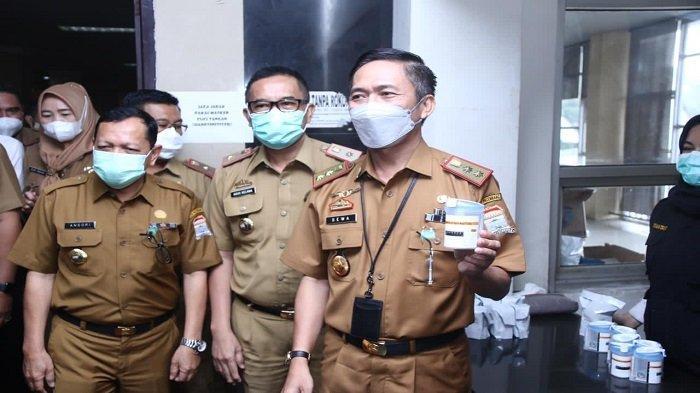 Sekda Palembang Ratu Dewa, Pelopori Seluruh Pejabat Tes Urine