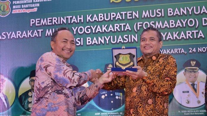 Sekda Muba Ajak IKPM dan Fosmabayo Muba Yogyakarta untuk Berperan Serta Membangun Daerah