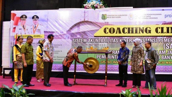Pemkab Muba Gelar Coaching Clinic SAKIP, Tingkatkan Pelayanan dan Program Kerja di Setiap Instansi
