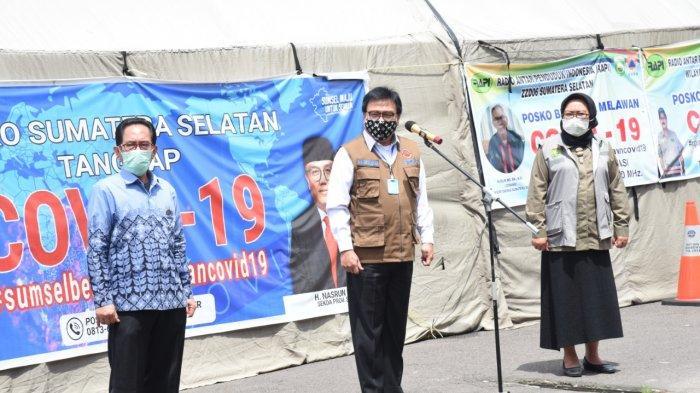 APD Terus Mengalir ke Pemprov Sumsel, Bantuan dari PD PAFI, Konsulat Jenderal Tiongkok dan Gapkindo
