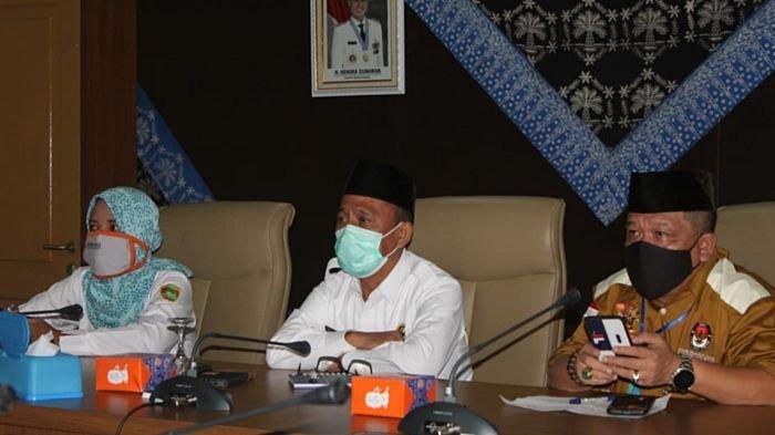 Sekda Musirawas Ikuti Rakor Bahas Pendanaan Pilkada Serentak Tahun 2020 Bersama Kemendagri