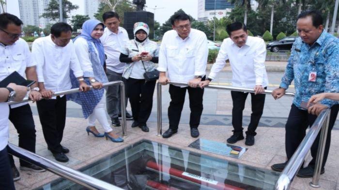 Terapkan Konsep Percepatan Pembangunan, Sekda Kota Palembang Belajar ke Pemprov DKI Jakarta