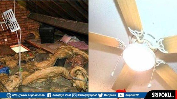 SELAMA 12 Tahun Seorang Pria Sembunyi di Loteng Atap Rumah Mantan Istrinya, Ini yang Dilakukannya!