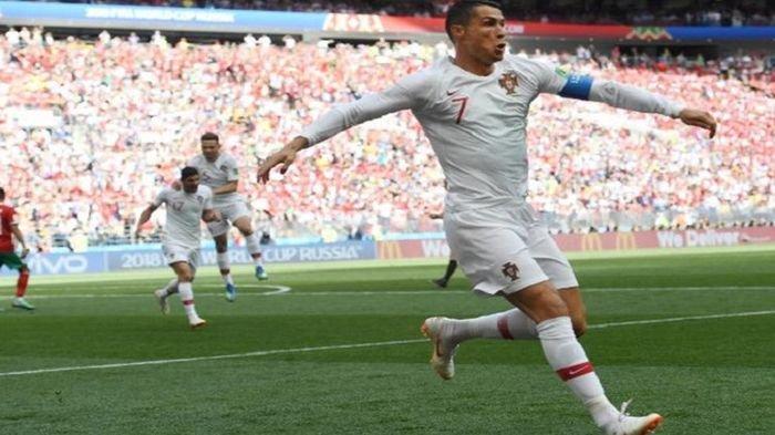 Gol Tunggal Sundulan Kepala Cristiano Ronaldo Menit Keempat Penentu Kemenangan Portugal
