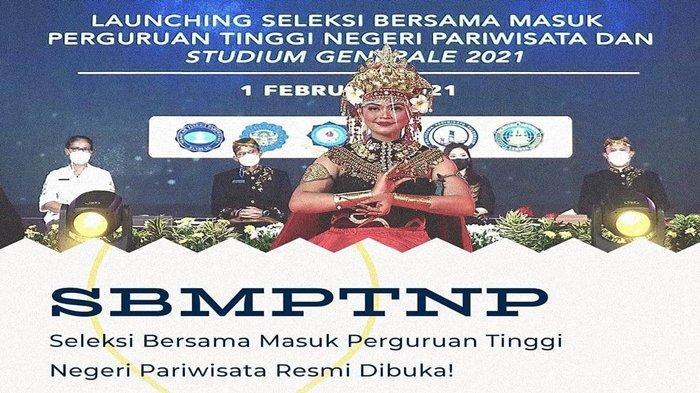 Seleksi Bersama Masuk Perguruan Tinggi Negeri Pariwisata (SBMPTNP) 2021 Resmi Dibuka, Ini Jadwalnya