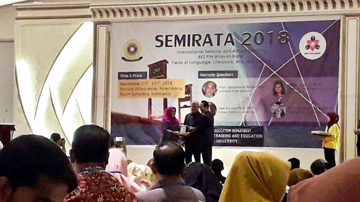 Seminar Internasional & Rapat Tahunan BKS-PTN Wilayah Barat Bidang Bahasa, Literatur, Seni & Budaya