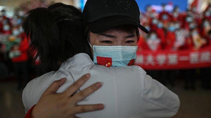 3 Bulan Terkurung Akibat Lockdown, Suka Cita Warga Wuhan Bisa Bebas Rayakan Kemenangan Lawan Corona