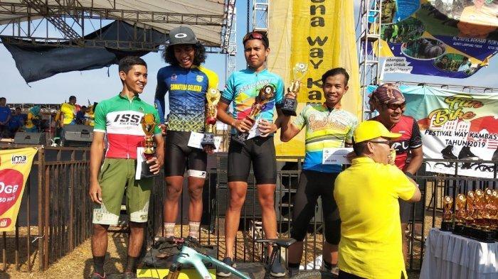 Atlet Sepeda Lahat Taklukan Kawasan Konservasi Gajah Taman Nasional Way Kambas