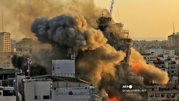 Runtuhnya Pertahanan Udara & Kota Israel Dihantam Roket Hamas, Ismail Haniyeh Nyatakan: Siap Perang