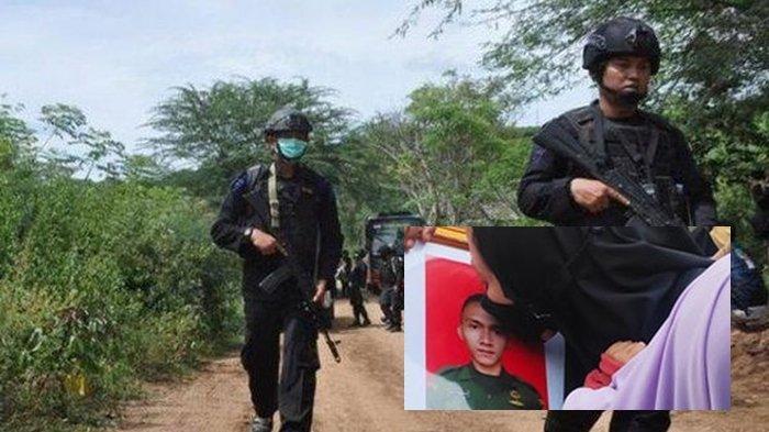 SERGAPAN BRIMOB Dibalas Tembakan anggota MIT dari Pegunungan, Briptu Herlis Gugur, TNI-Polri BErduka