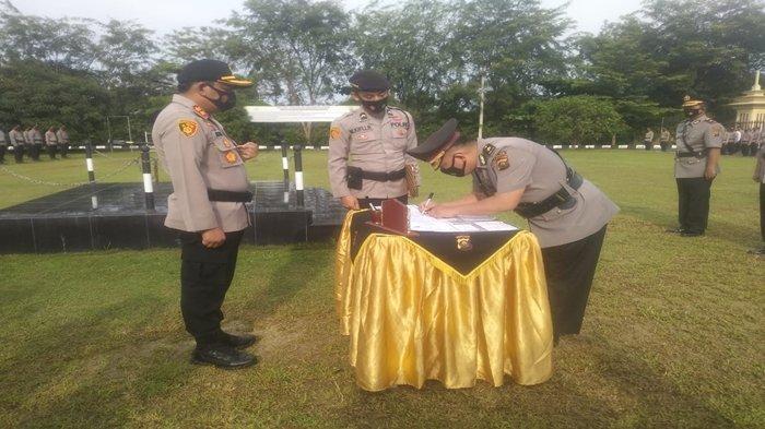 Mutasi di Polres OKU, Jabatan Wakapolres Kini Dijabat Mantan Perwira di Ditlantas Polda Sumsel