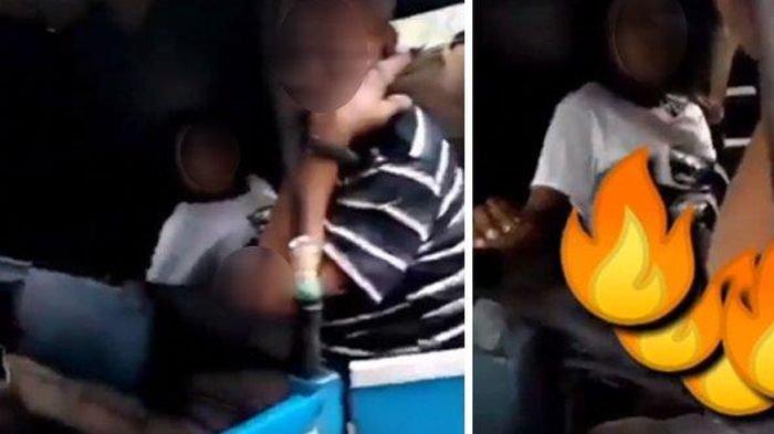 Video kakek diduga mesum di bajaj dengan wanita muda
