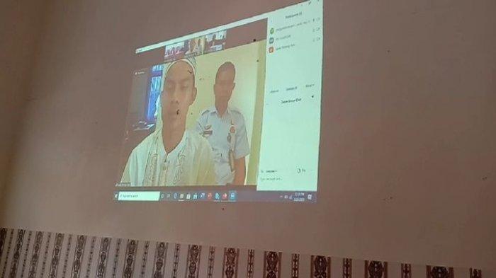 Pandemi Covid-19, Sidang Kasus di PN Kayuagung Digelar Secara Video Conference