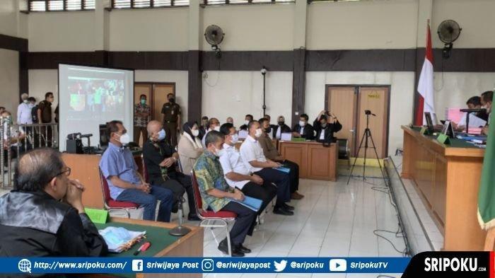 Sejumlah Petinggi Sumsel Hadir sebagai Saksi Sidang Kasus Masjid Raya Sriwijaya, tapi Sidang Ditunda