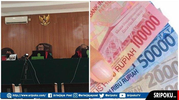 OKNUM Kades di Sumsel Korupsi Dana Covid untuk Berjudi, 156 KK tidak Dapat Bansos, Dituntut 7 Tahun