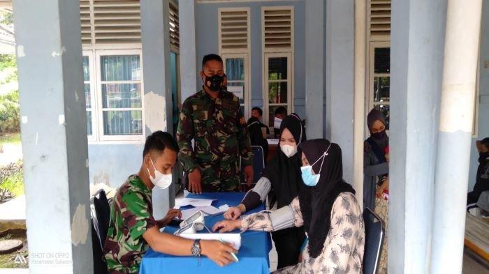 Antusias Tinggi, Vaksinasi di Lanud Sri Mulyono Herlambang Palembang Target 50 yang Ikut 62 Orang
