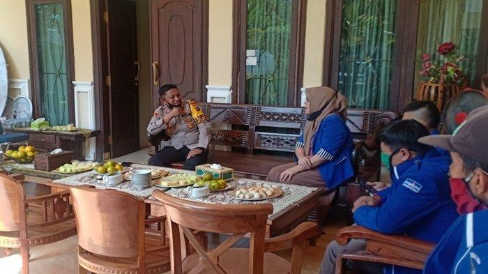 Jelang Pilkada Serentak Kapolres OKU Rajin Bersilaturahmi dengan Pimpinan Parpol di OKU