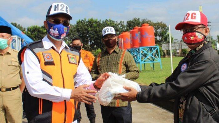 Panti Asuhan dan Panti Jompo Serta Pendeta Terima Bantuan dari Pemkab Musirawas