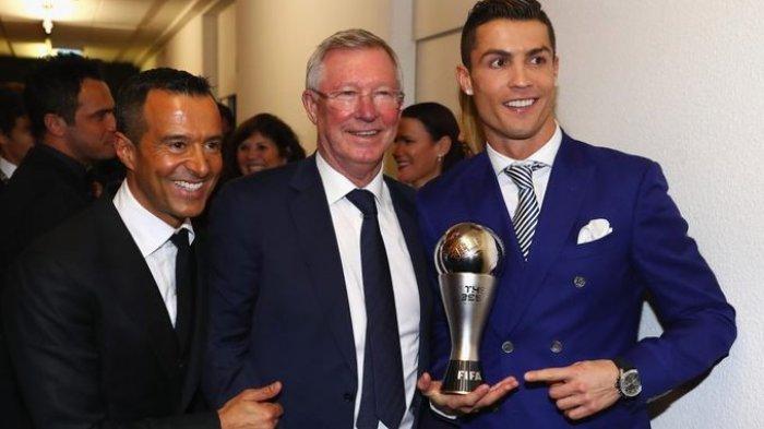 Pesan Cristiano Ronaldo Untuk Sir Alex Ferguson, Usai Kembali ke Manchester United: Ini Untukmu