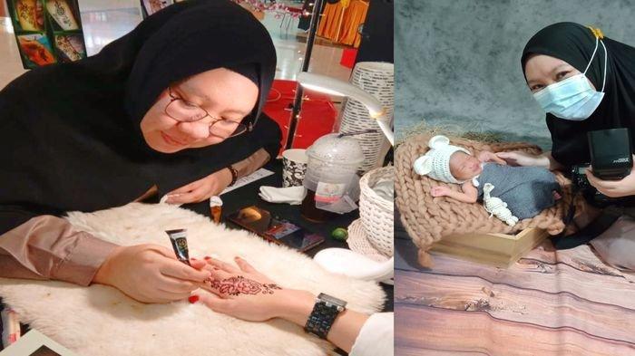 Mengenal Sisca Angrini, Dosen, Seniman & Pengusaha Henna di Palembang, Berawal dari Hobi Menggambar