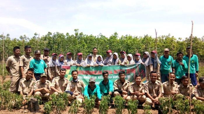 Siswa SMK PP Negeri Sembawa Lakukan Praktik Lapangan di Dua Desa