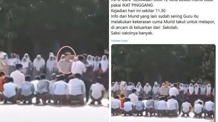 Siswa SMA Dihajar Wakasek di Bekasi Sempat Terima Maaf Sebelum Video Viral, Guru Dikenal Tempramen