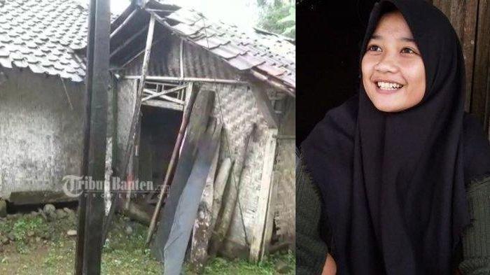 Siti Nuraida, Siswi Kelas 10 SMK, Tinggal Sendiri di Gubuk Reyot, Ibunya Meninggal, Bapak Kawin Lagi