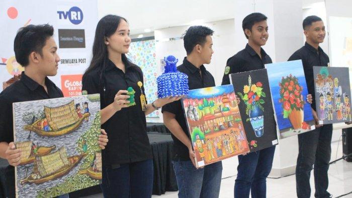 Puluhan Siswa SMPN SLB Pembina Palembang Tampil Percaya Diri Tunjukkan Bakat Mereka
